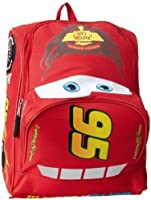 Amazon.com | Disney Cars Shaped 12 Inch Toddler Backpack | Kids ...