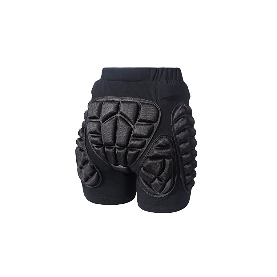 3D Protection Hip EVA Padded Short Pants Unisex Adult Children Protective Gear for Outdoor Sports Skiiing Skating Snowboard Skateboarding Cycling Impact Protection