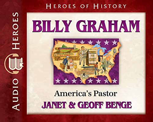 Billy Graham Audiobook: America's Pastor (Heroes of History) by YWAM Publishing