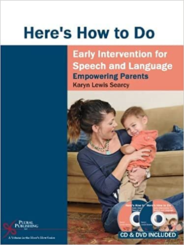 Amazon.com: Here's How to Do Early Intervention for Speech and ...