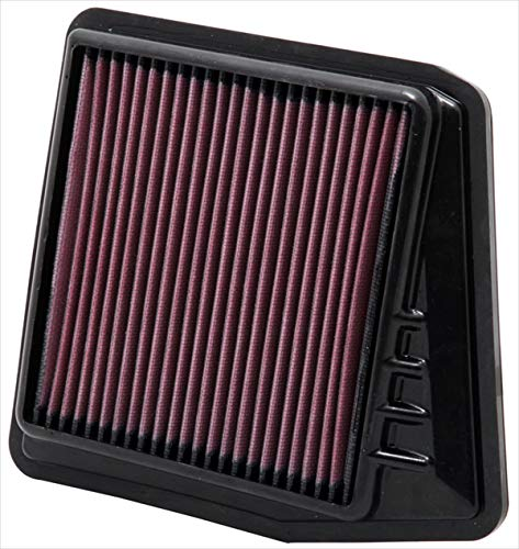 (K&N 33-2430 High Performance Replacement Air Filter)