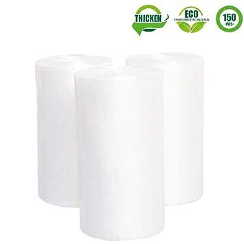 Amazon.com: 1,2 galón transparente bolsas de basura, Jorris ...