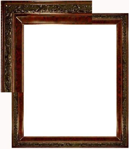 Amazon.com - Natural Wood Frame 20 X 24 Open Back Mahogany Red Macy ...