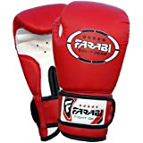 4oz Kids Boxing Gloves Junior Mitts mma Synthetic Leather Sparring Gloves Red