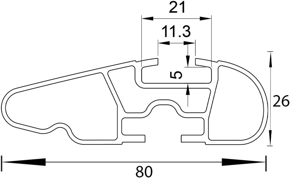 Farad Barres de Toit Compact en Aluminium a/érodynamiques Gris et Super-silencieuses pour Infiniti Q30 2016 sans Barres longitudinales