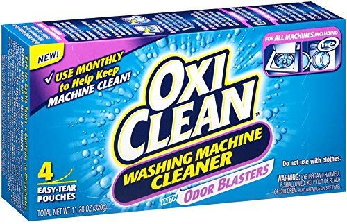 OxiClean Washing Machine Cleaner, 4 Count (4-Pack (4 Count))
