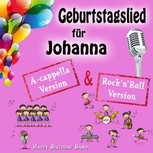 Geburtstagslied Für Johanna By Happy Birthday Band On