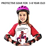 #4: Kids Adjustable Comfortable Knee Pads and Elbow Pads with Wrist Guards Youth Protective Gear Set for Biking, Riding, Cycling and Multi Sports Safety Protection: Scooter, Skateboard, inline skatings