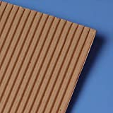 Single Face Corrugated 12 X 12 - Sheets and Pads - 100 each by Paper Mart