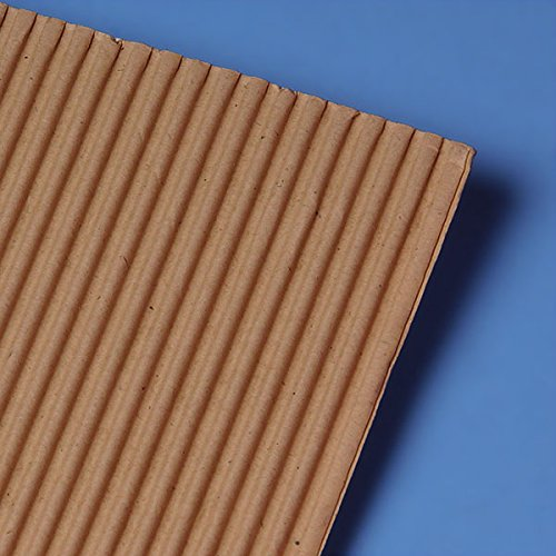 Single Face Corrugated 12 X 12 - Sheets and Pads - 100 each by Paper Mart by Paper Mart