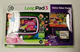 LeapFrog LeapPad 3 Extra Value Pack - Pink Tablet + Letter Factory Game Download + Gel Skin + $15 DLC card - Ages 3-9 [LeapPad]