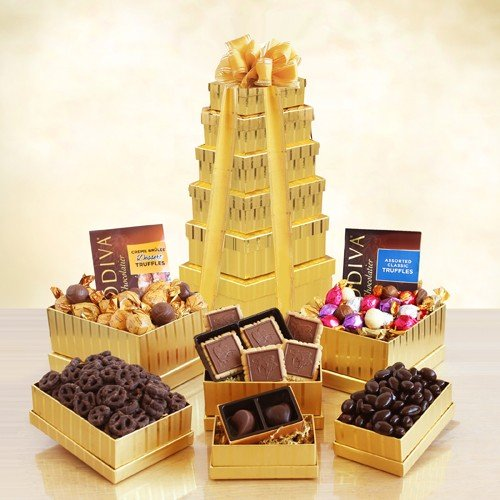 Height of Indulgence Godiva Gift Tower (Corporate Gift Business)