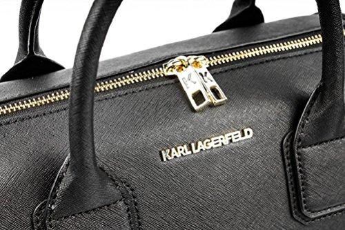 Karl Lagerfeld , Damen Umhängetasche schwarz schwarz