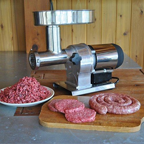 WESTON BUTCHER SERIES #12 ELECTRIC MEAT GRINDER (¾ HP)