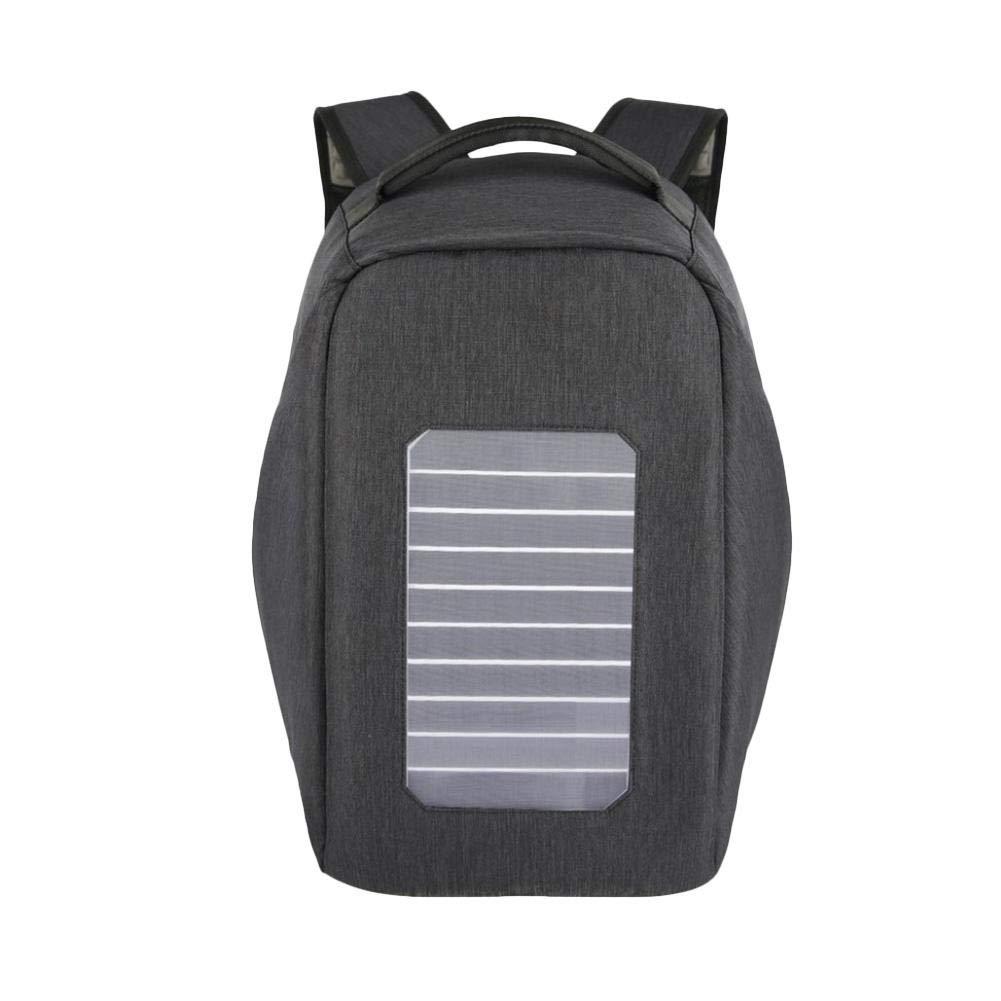 e43261ddff Zaino Solar Power Storage Antifurto Impermeabile Multifunzionale Sacchetto  Sacchetto Sacchetto di Viaggio Solare 996c35
