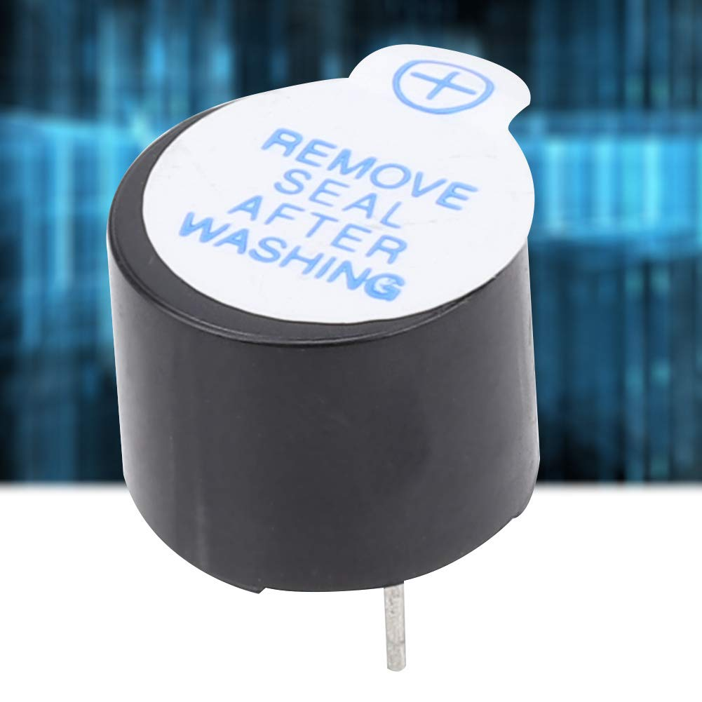 10Pz Cicalino 5V Suono Lungo Tipo Elettromagnetico Cicalino Buzzer Attivo Allarme Elettronico con Inserire Direttamente Il Tubo SOT