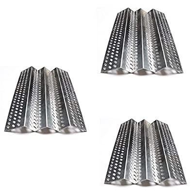 Votenli S9246A (3-Pack) Stainless Steel Heat Plate Replacement for American Outdoor Grill 24NB 24NG 24NP 24PC 36NB 36PC