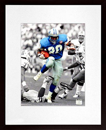 Detroit Lions Barry Sanders Spotlight 11x14 Photograph (SGA Value Series) Framed