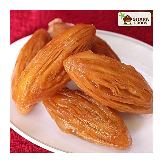 SITARA FOODS - Madatha Kaaja/ Tapeswaram Khaja / Kaja Homemade Andhra Style (Premium Quality) 250 Grams