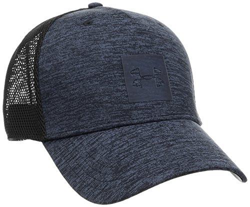 Under Armour Men's Twist Trucker Cap, Black (001)/Stealth Gray, One Size