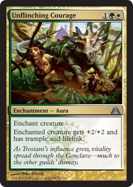 Magic: the Gathering - Unflinching Courage - Dragon's Maze