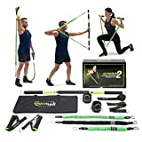 Gymwell Portable Resistance Workout Set 2.0, Free Workout Resource, Total Body Workout Equipment for Home, Office or Outdoor, Best Portable Gym