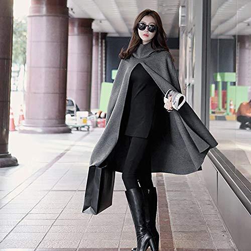 De Mujer Vaqueras Sudadera Abrigo Chaquetas Capucha Negro Con Mujer Oscuro Outwear Ropa Ashop Gris IqX1U