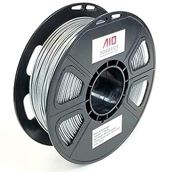 Filamento AIO Robotics Premium para impresoras 3D, PLA metal, 0,5 ...