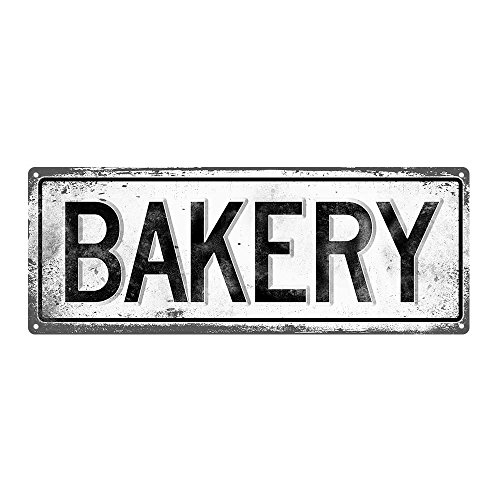 metal bakery sign - 3