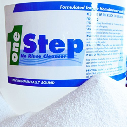 One Step No Rinse Cleaner - 1 Lb.