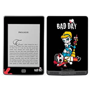 Diabloskinz de ceniciente malvada 0072-0066-0009 B Skin para Amazon Kindle Touch
