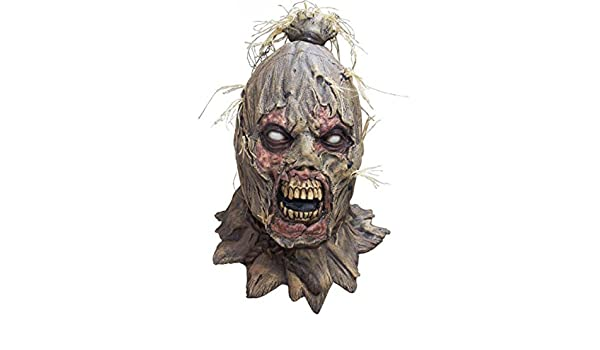 Creative Collection Máscara de Zombie Deluxe espantapájaros Scareborn: Amazon.es: Juguetes y juegos