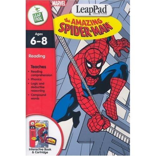 LeapPad Software -1ST GRADE: Spider-Man