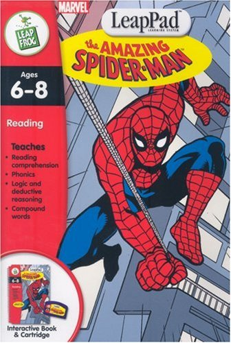 LeapPad Software -1ST GRADE: Spider-Man by LeapFrog (Image #1)