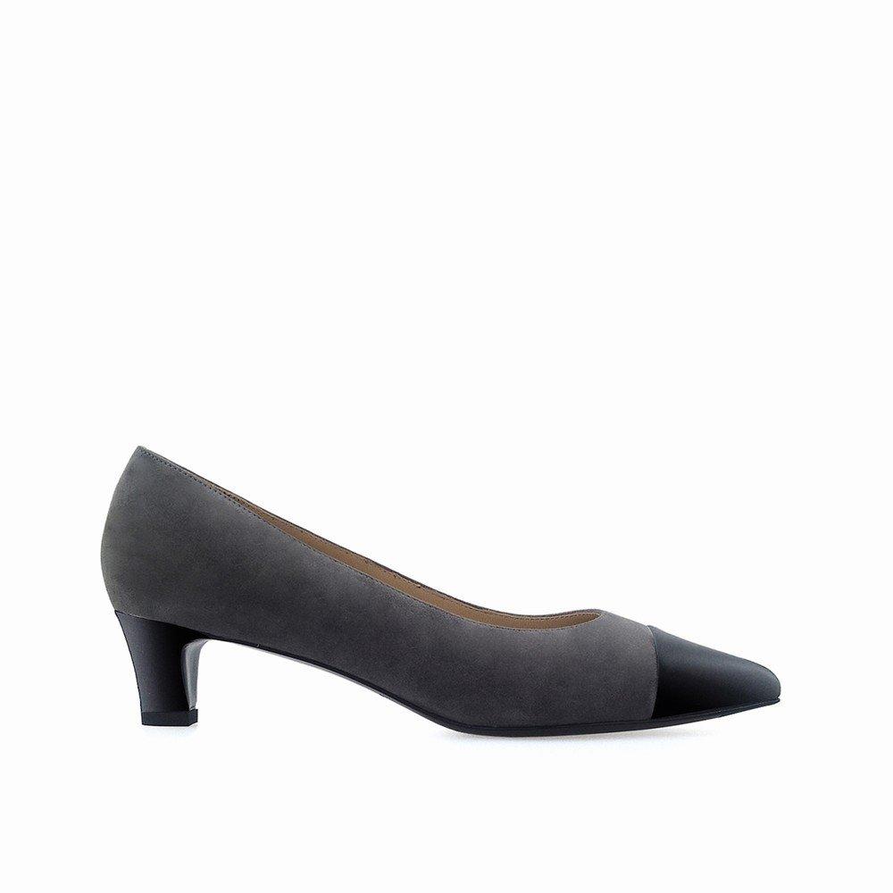 DHG Spleißender Zwerg mit gespitzten Schuhen Mund federt Wirklich Flachen, Flachen Mund Schuhen mit Niedrigen Schuhen,Grau,39 109438