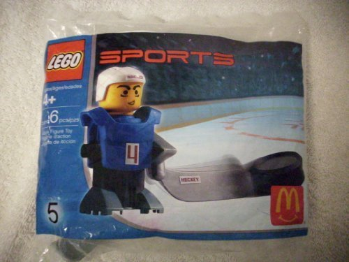 McDonalds Happy Meal Toy Lego Sports #5 Ice Hockey