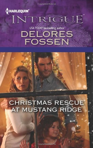 book cover of Christmas Rescue at Mustang Ridge