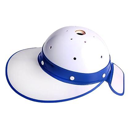 fbfbb1c2a0c Andux Golf Caddy Helmet Sunscreen Hat Shockproof Safety Helmet QTAQM-01 ( Blue)
