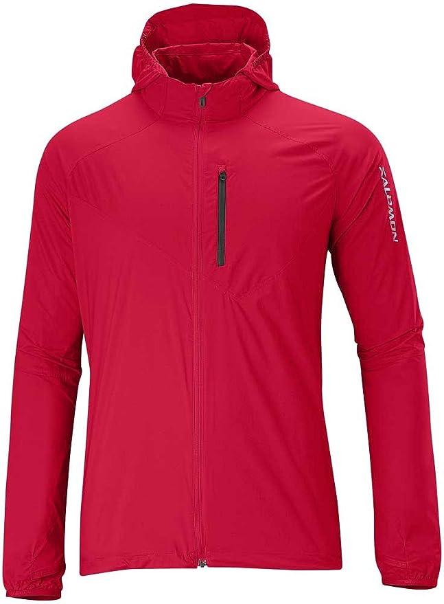 elegante Form modische Muster abwechslungsreiche neueste Designs Salomon Fast Wing Hoodie II Jacket M ROT L12891800 Grösse: L ...