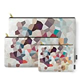 Society6 Africa Geometric Abstract Carry-All Pouch Set of 3