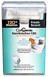 Catgenie 120 Sanisolution Smartcartridge, Fresh Scent, 15 Fluid Ounce