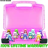 Life Made Better Care Bears Case, Toy Storage Carrying Box. Figures Playset Organizer. Accessories Kids LMB