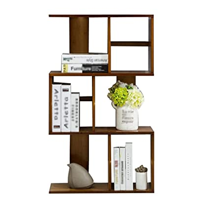 HFFTLH Student Bookshelf Shelf Living Room Bamboo Vertical Bookcase Creative Small Bookshelf1