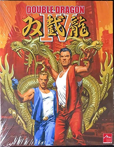 Amazon Com Double Dragon Iv Collector S Edition Limited Run 104 Playstation 4 Video Games