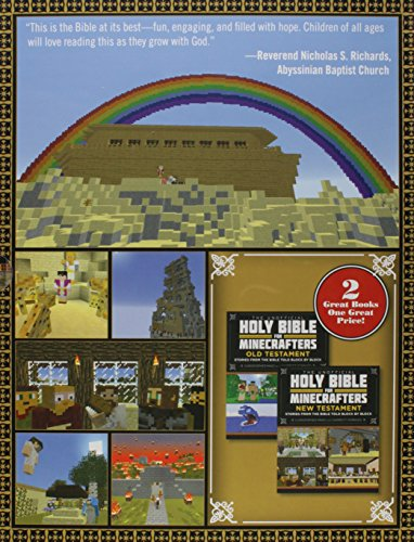 The Unofficial Holy Bible for Minecrafters Box Set: Stories from the Bible Told Block by Block by Minecraft (Image #1)