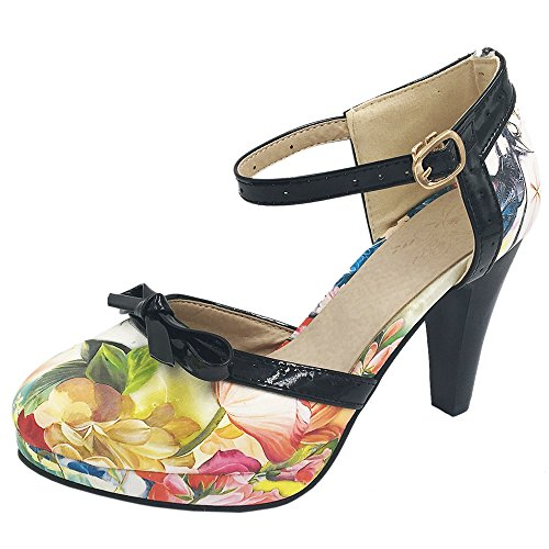 11 0 Blu Ladies Tacchi Colori Taglia Sandali 8 Coolcept Scarpe Orsay D 0wxBwqR8