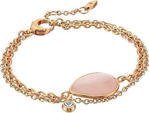 Fossil Women's Vintage Iconic Quartz Teardrop Bracelet Pink 1 One ()