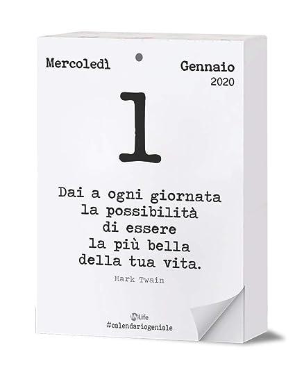 Calendario Geniale 2020 Maxi Leggi La Frase Del Giorno Con I