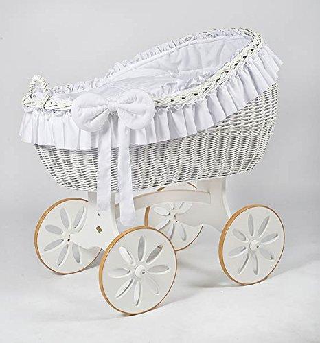 stubenwagen komplett bollerwagen stubenwagen babykorb bianca due spoke white jetzt kaufen
