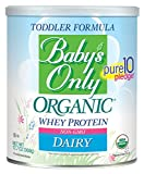 Baby's Only Toddler Formula, Dairy with Whey Protein, 12.7 Ounce (Pack of 6)